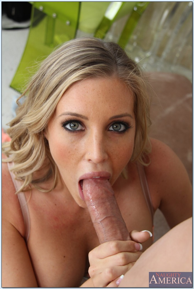 eyes blowjob blue Samantha saint