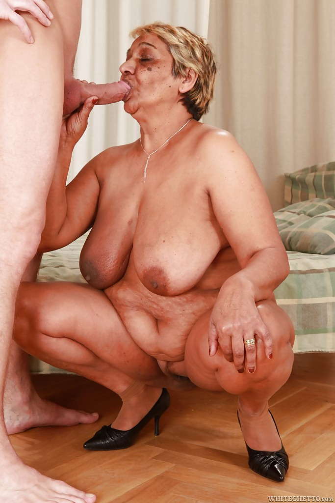 Milf handjob young guy