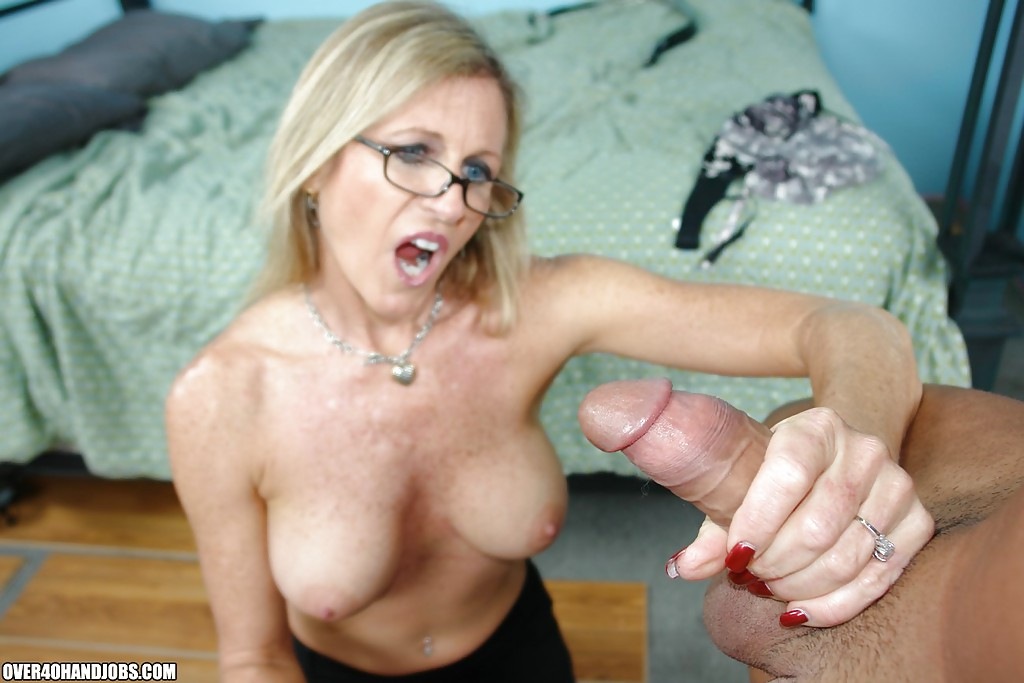 Alysha mature man woman glasses camera guy