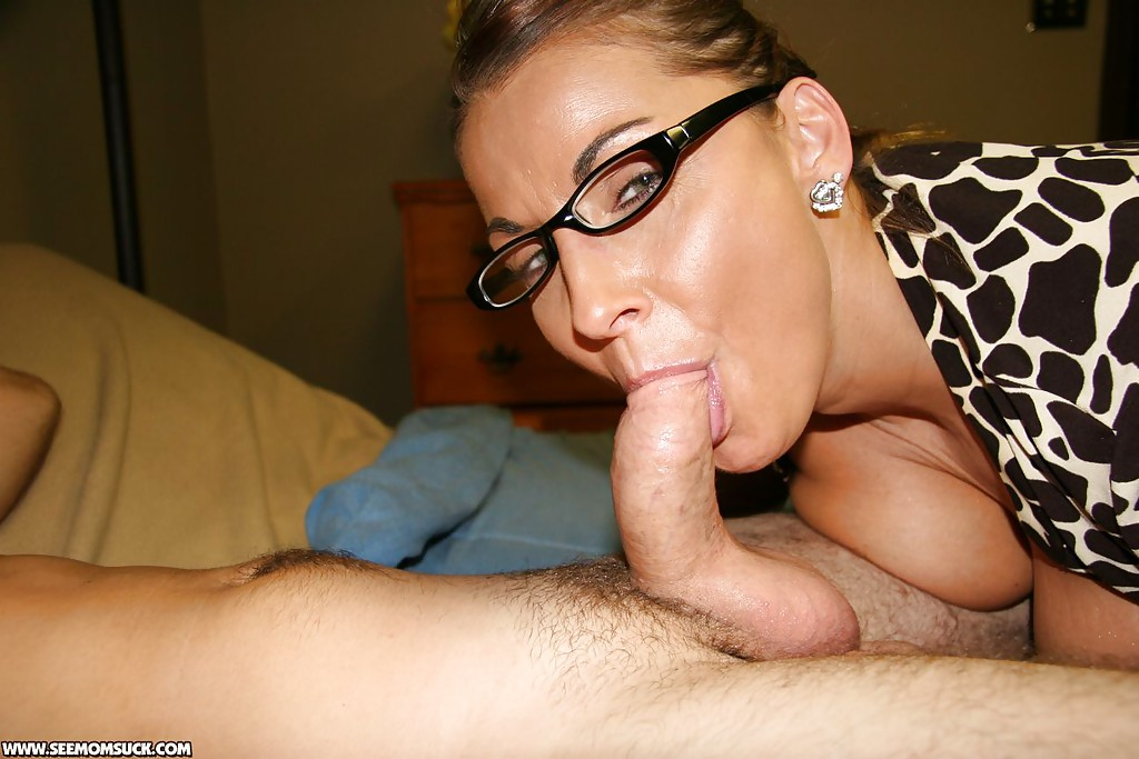 Mature woman deep throat ragazzi, non