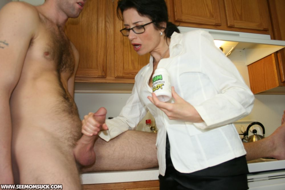 Mom with glasses porn