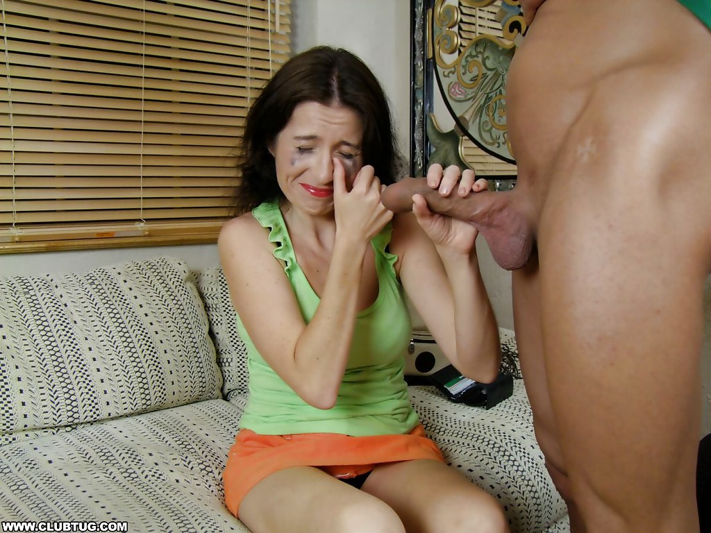 handjob Mature cumshot woman