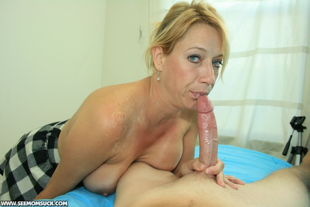 Blonde Mature Young Stud