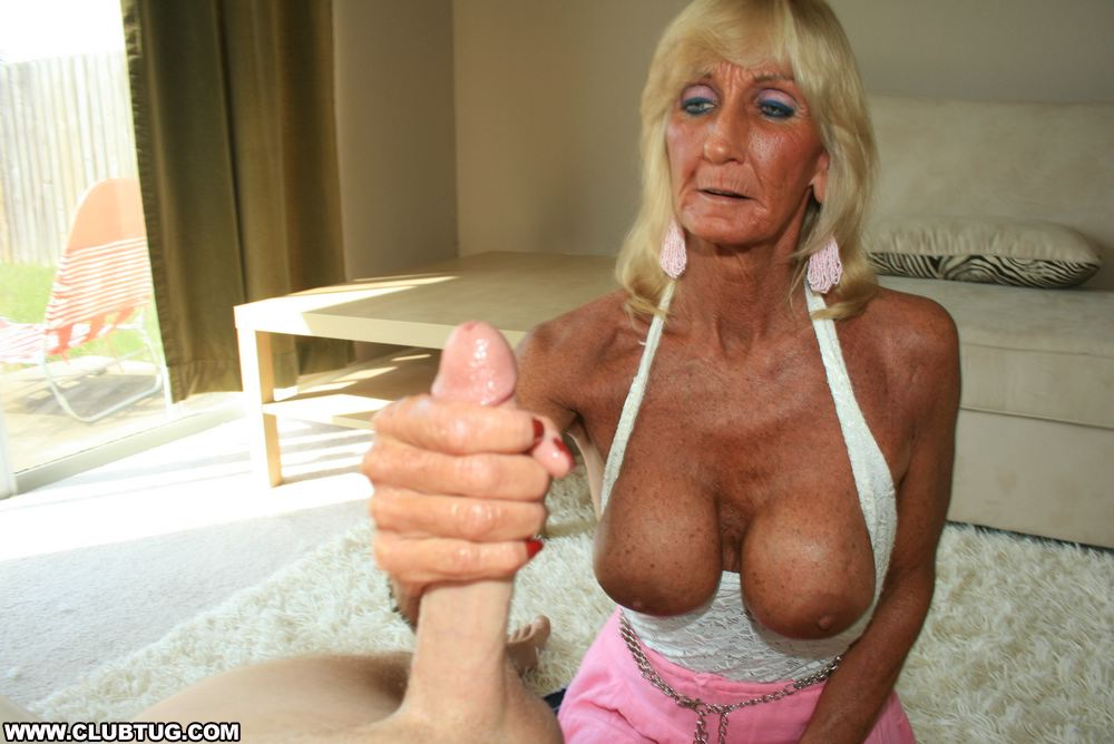 Big tits granny handjob has analogues?