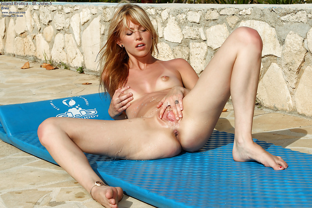 nude girl camping masturbating