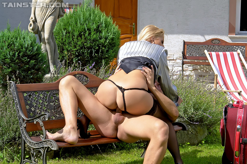 Piss milf outdoor