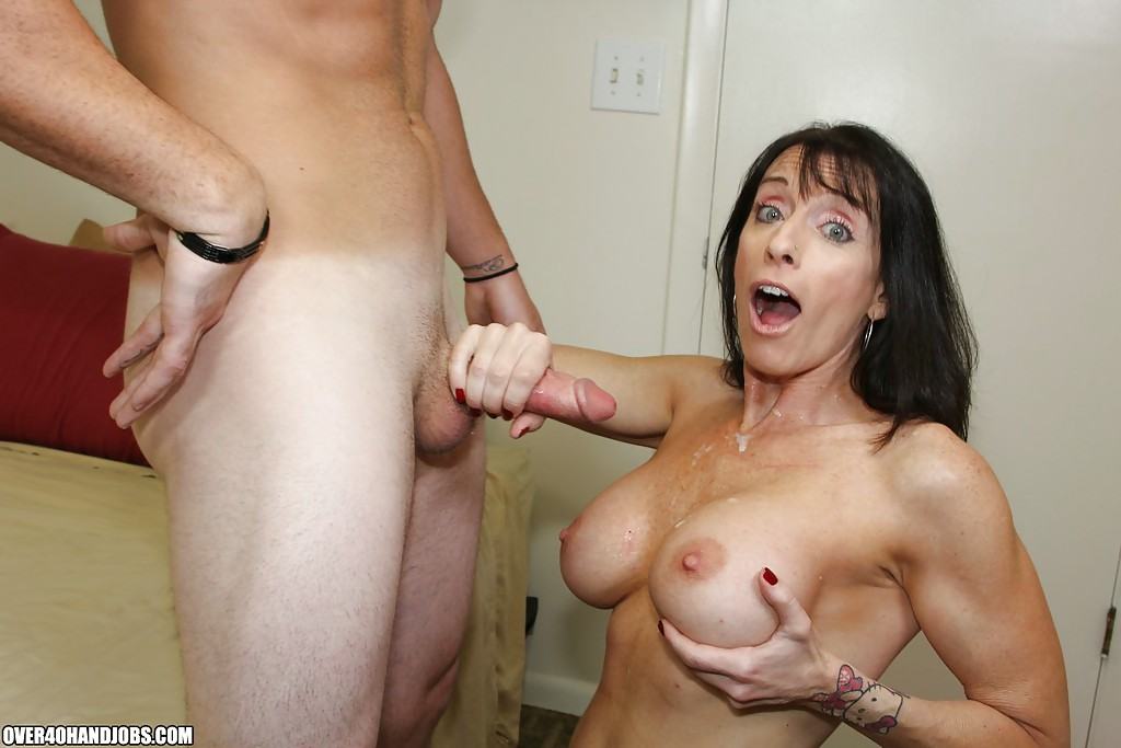 old hand job naked