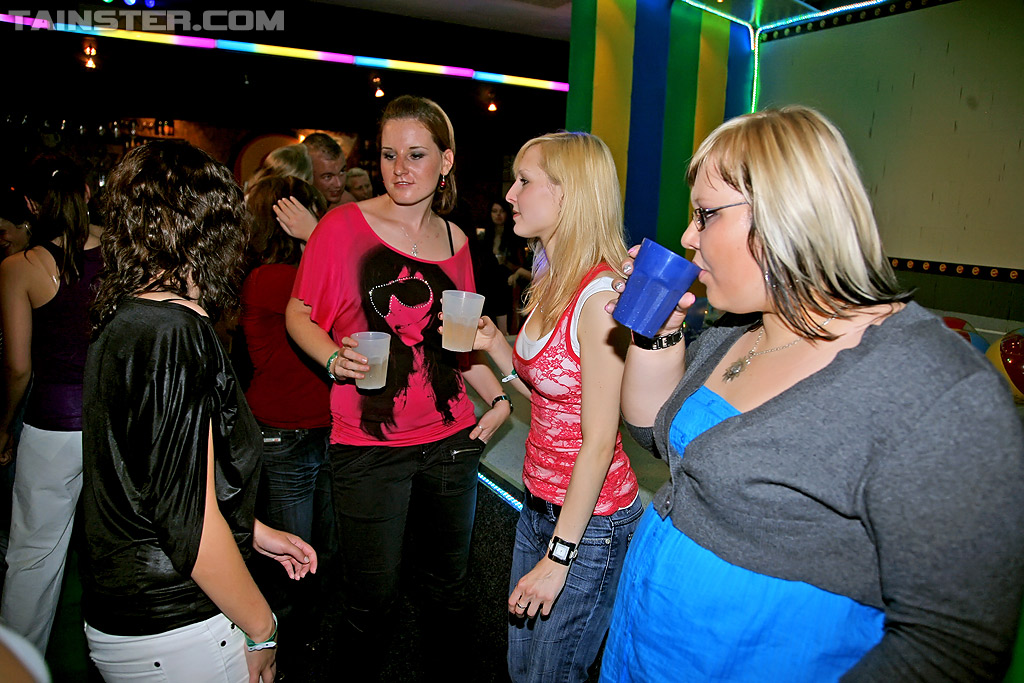 Alluring gals going wild at the interracial hardcore sex party