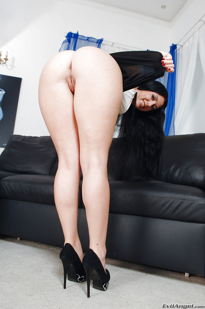 Her asshole looks fuckable and sexy 6
