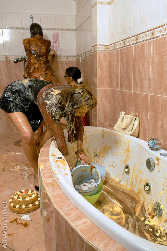 Curly fetish females forming some scruffy foodplay motion in the shower porn photo #321279087   All Wam, Lellou, Amanda Vamp, Barbara Sweet, Ass, Fetish, Shower, Skirt, Upskirt, mobile porn
