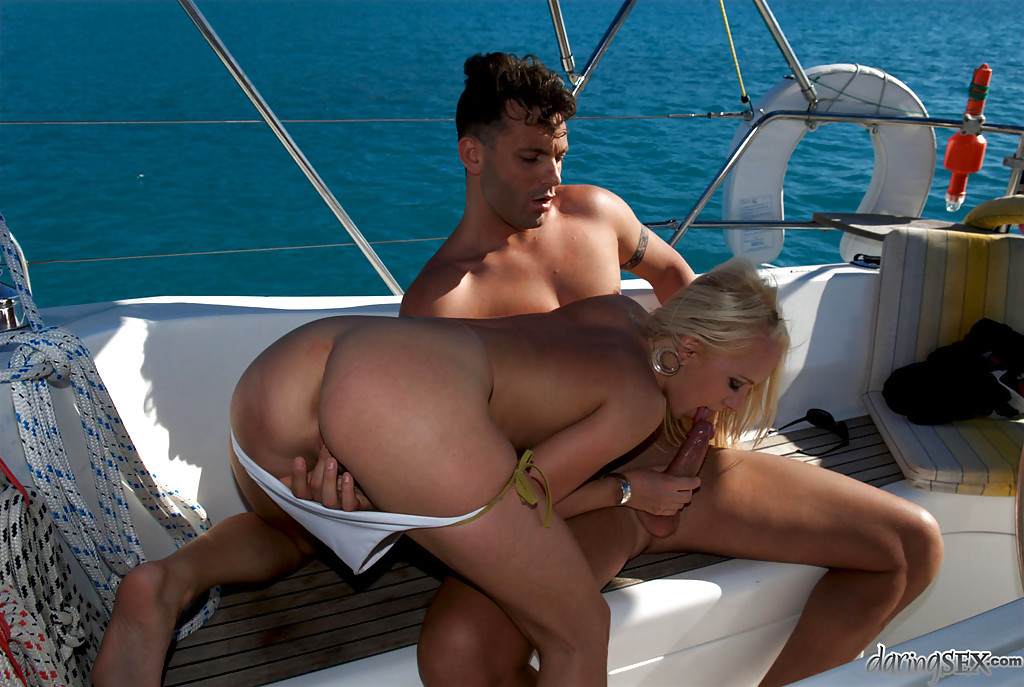 blow job in boat