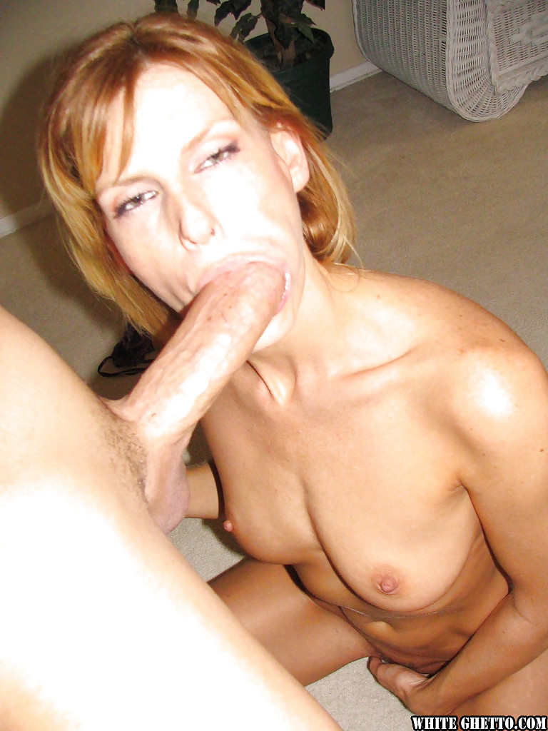 Long white cocks sucked blonde milf