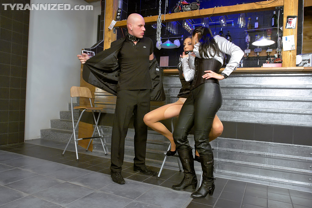 Femdom in boots