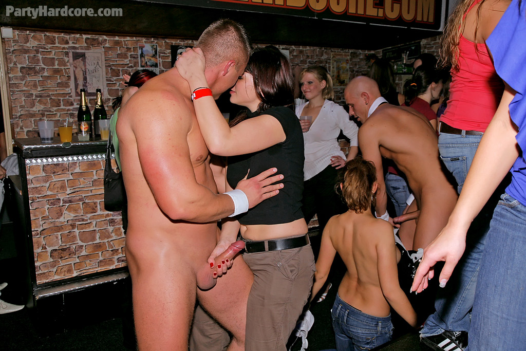 Naked party stripper