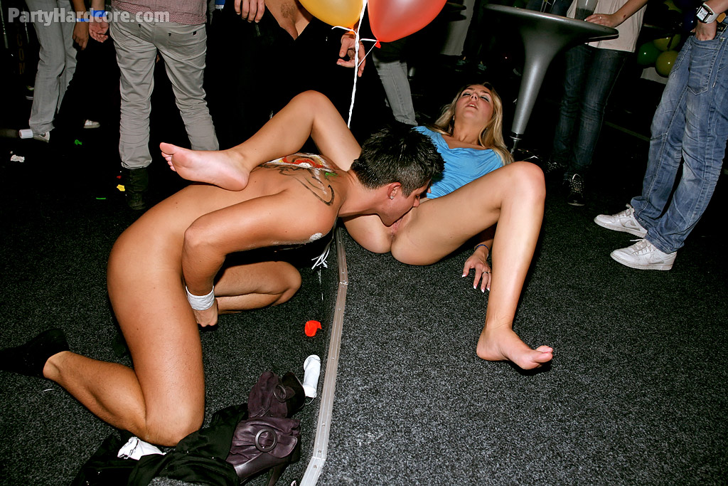 Filthy european amateurs getting pounded hardcore at the sex party