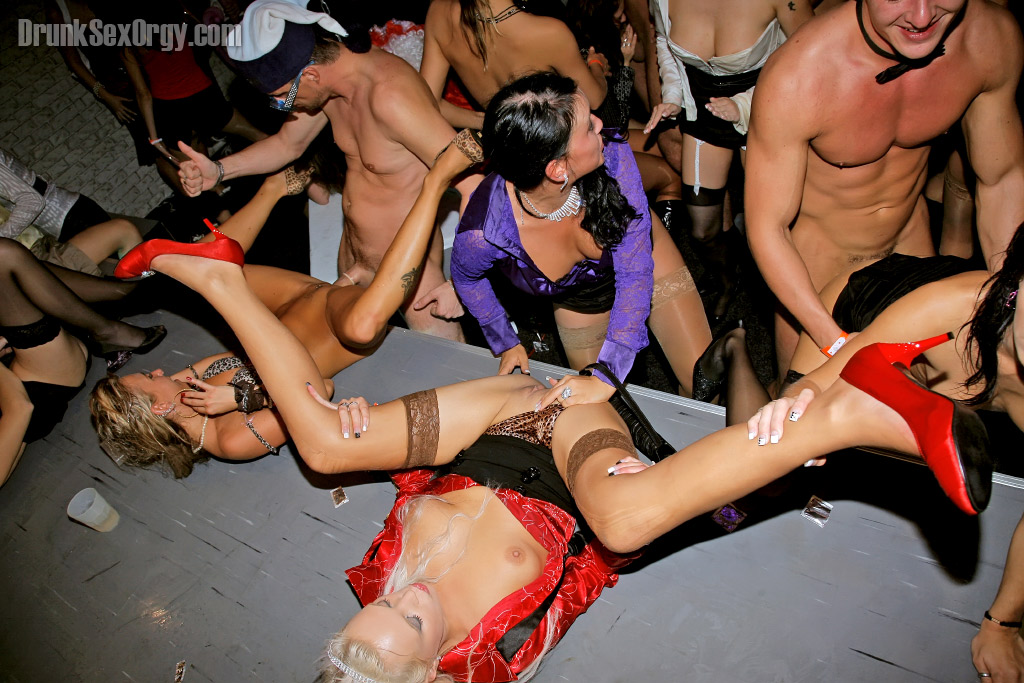 Cock hungry european party sluts getting satisfied by male strippers