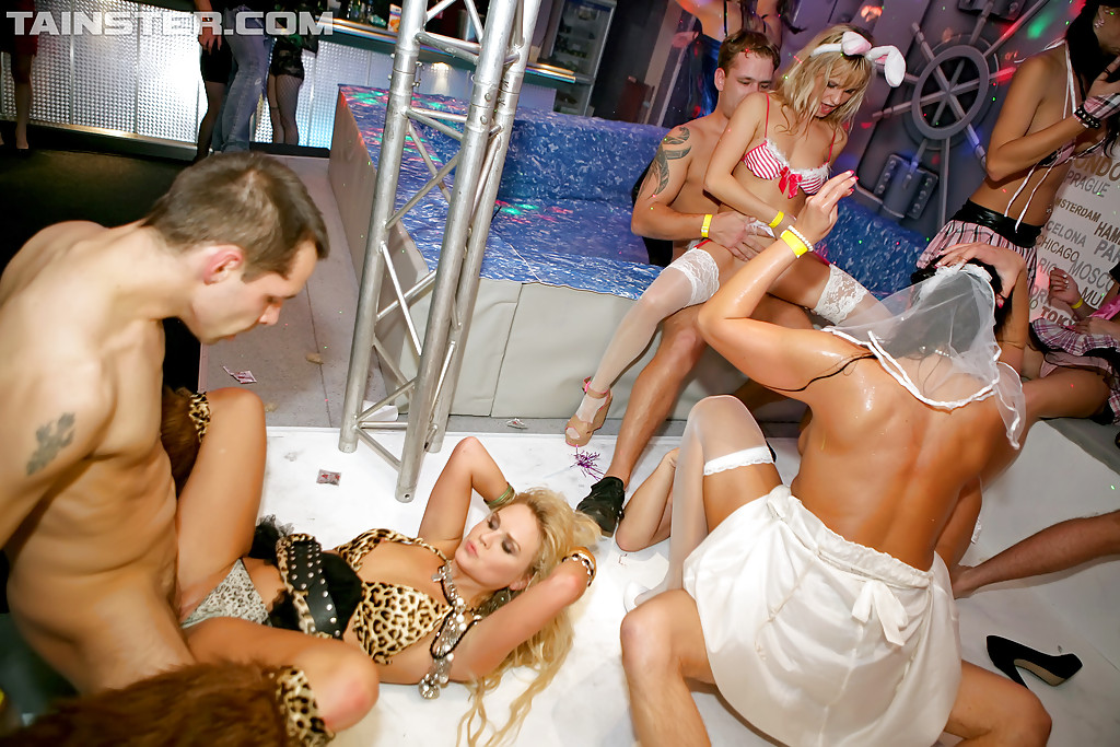 Strippers orgy video 10