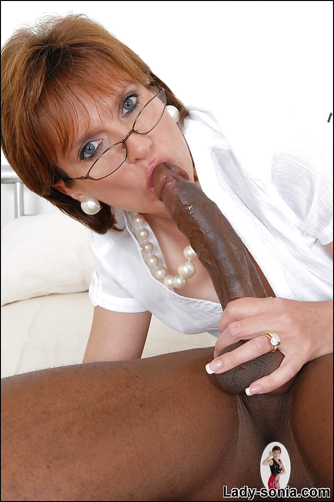 Mature Loves Huge Cock