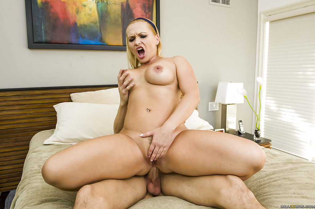 Blonde Milf Takes Big Dick Into Her Ass