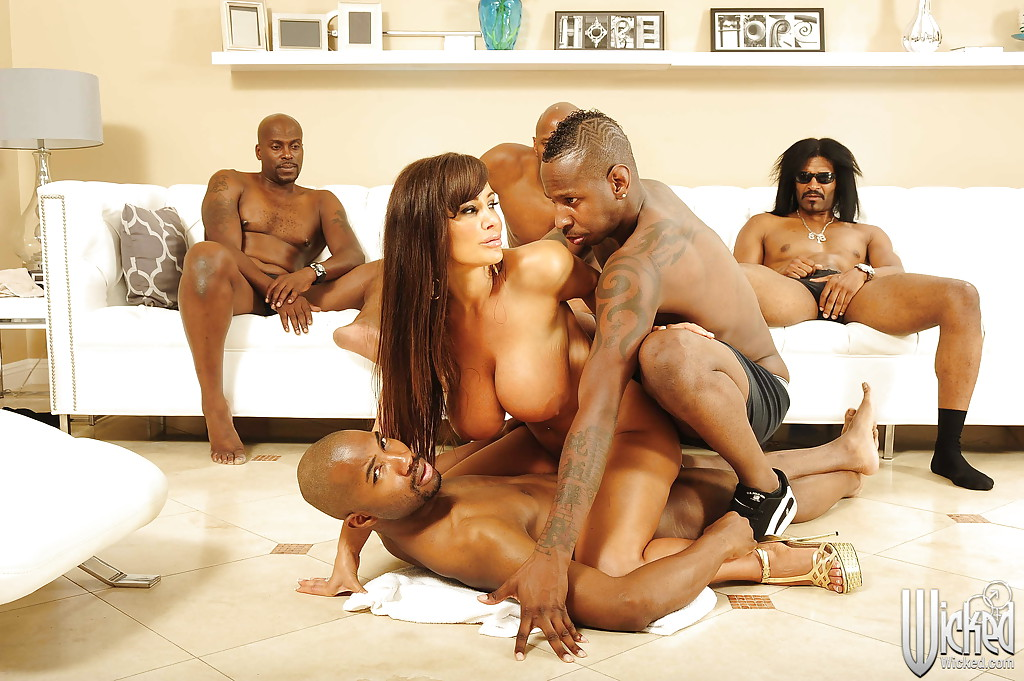 Lisa ann interracial gangbang vids