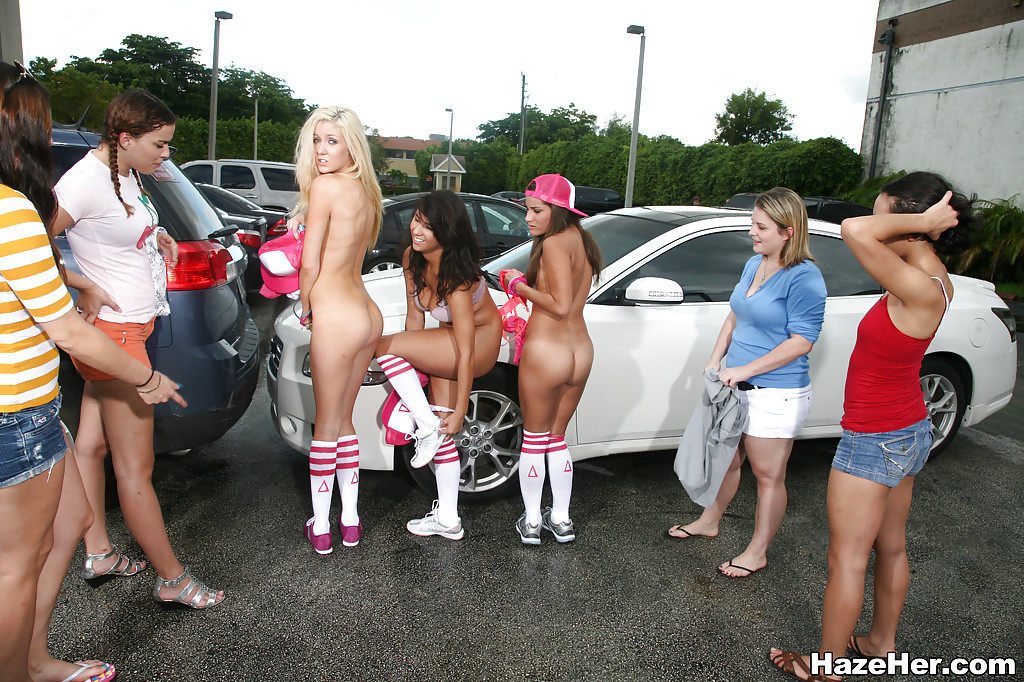 Happens. Let's Humiliation nude public girl and too