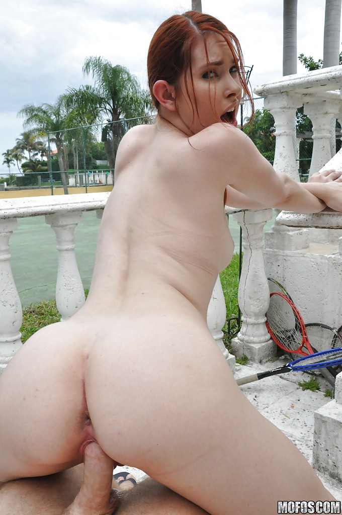 Red Head Pawg Interracial