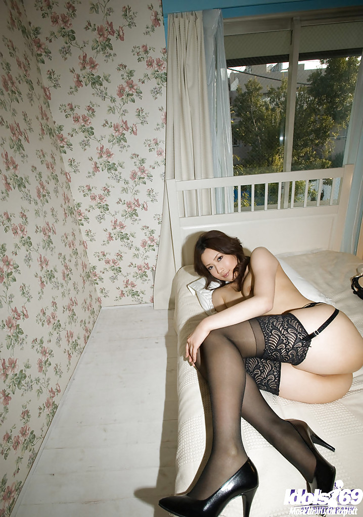 Asian reina yagami porn haruka yagami taking off her lingerie and spreading her legs