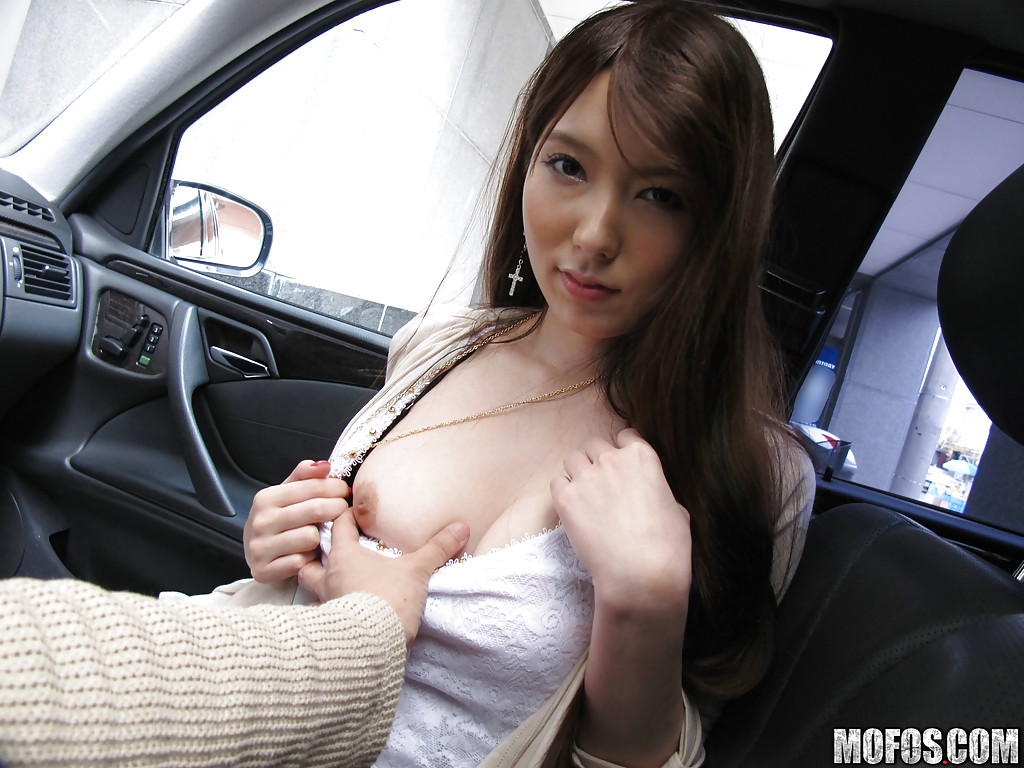Asian Blowjob In Car