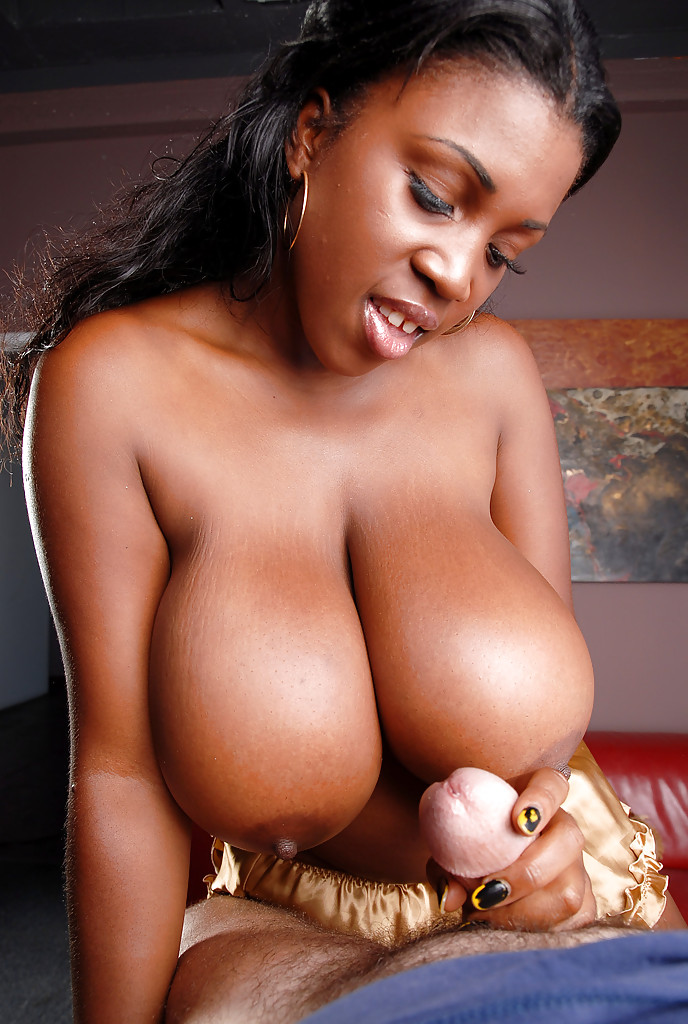 Gives handjob ebony