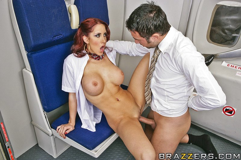 Hentai flight hostess