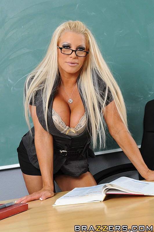 Slutty teacher having sex 7