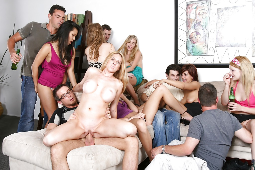 Wild college party girls fuck