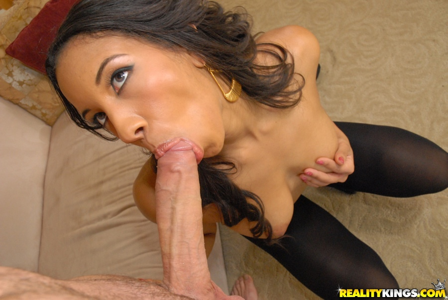 Hot black blowjob