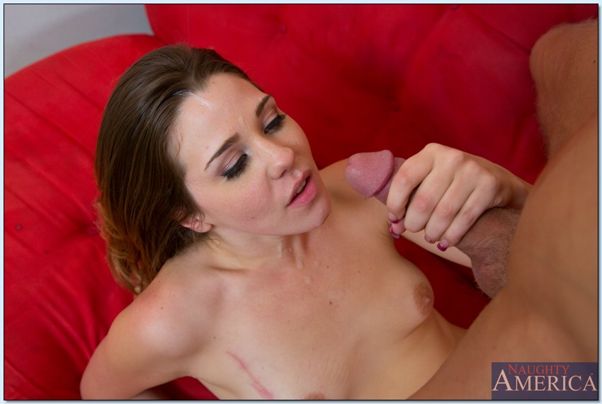 Claire Heart gets fucked and takes a cumshot on her lovely face