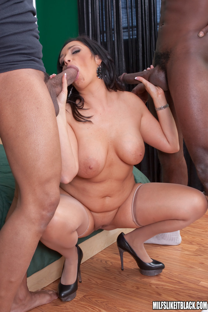 voluptuous interracial