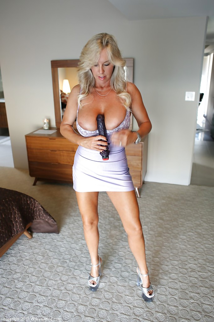 mature dildo play