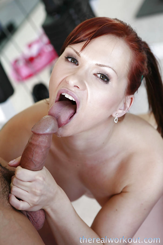 Redhead chick interracial