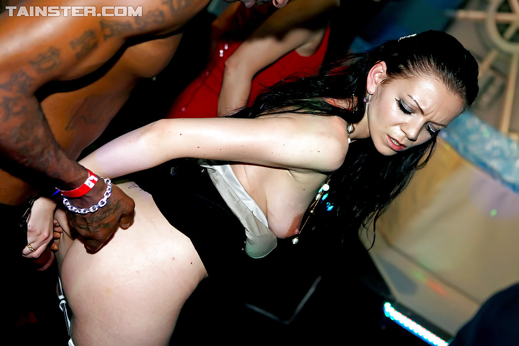 Drunk hardcore orgy partying sex