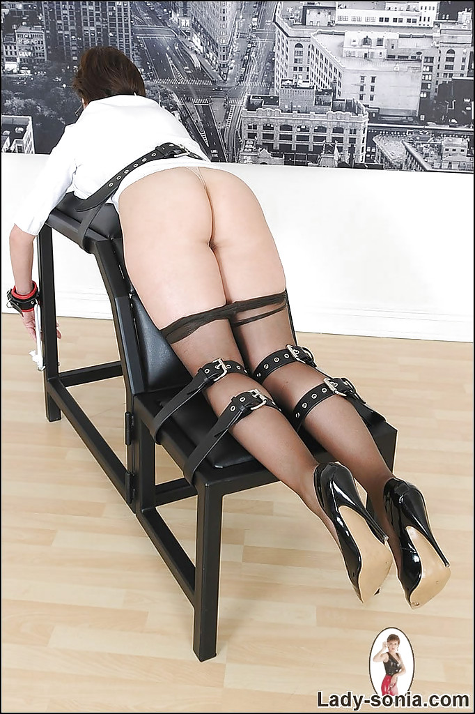 Well-graced Bdsm missy in dusky nylon pantihose posing linked porn photo #317876302 | Lady Sonia, Lady Sonia, Ass, Big Tits, Bondage, Glasses, High Heels, Mature, Pantyhose, mobile porn