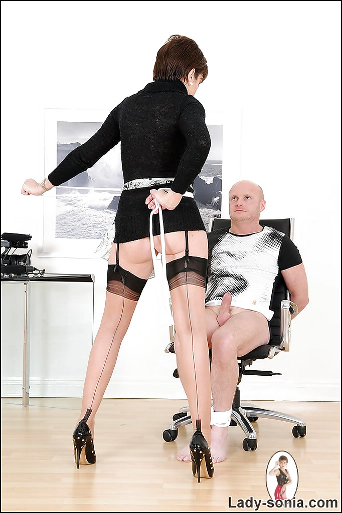 Jenn tied up and cock teased wendy devine