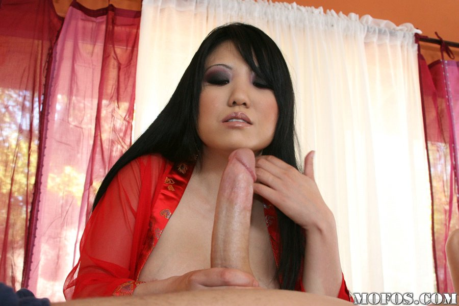 asian sucks big dick red yube