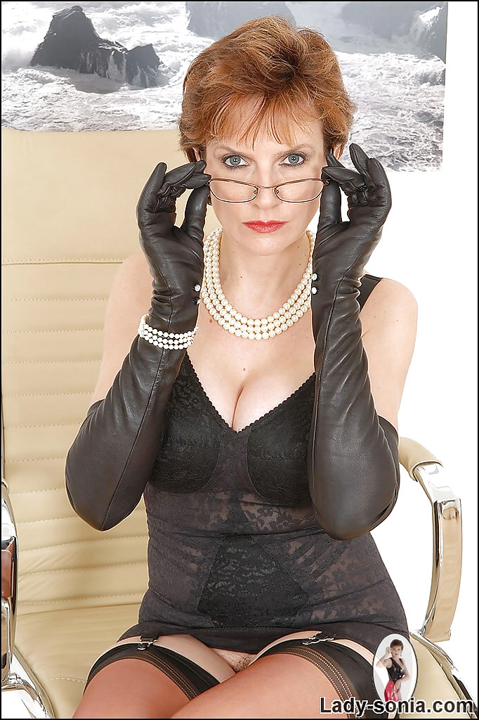 Very lady sonia leather gloves really