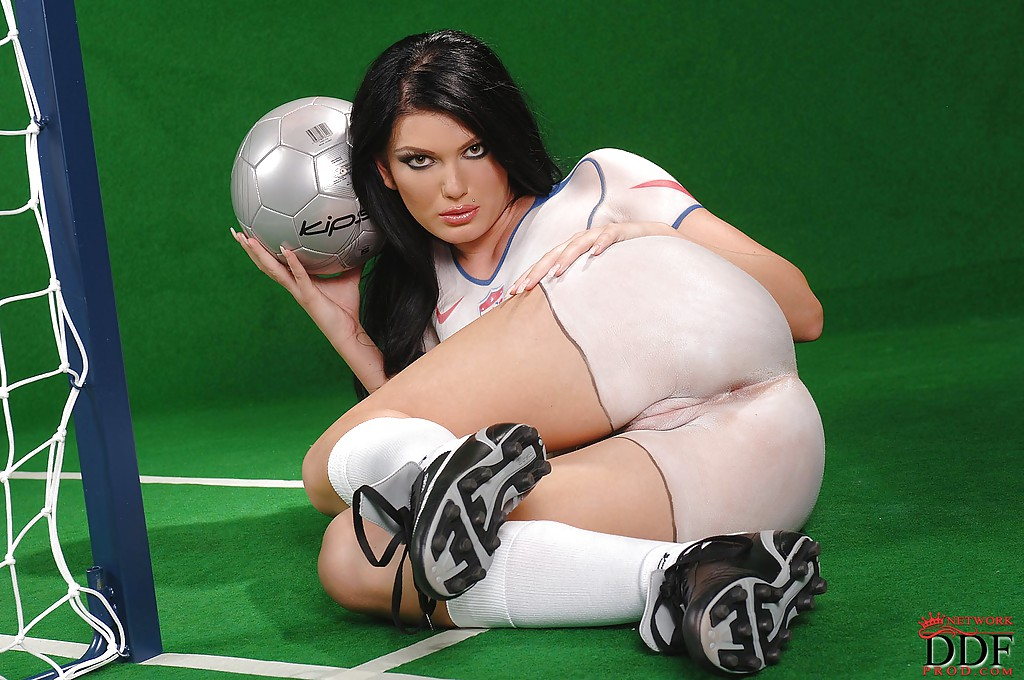 from Enzo football jersey sexy women poses
