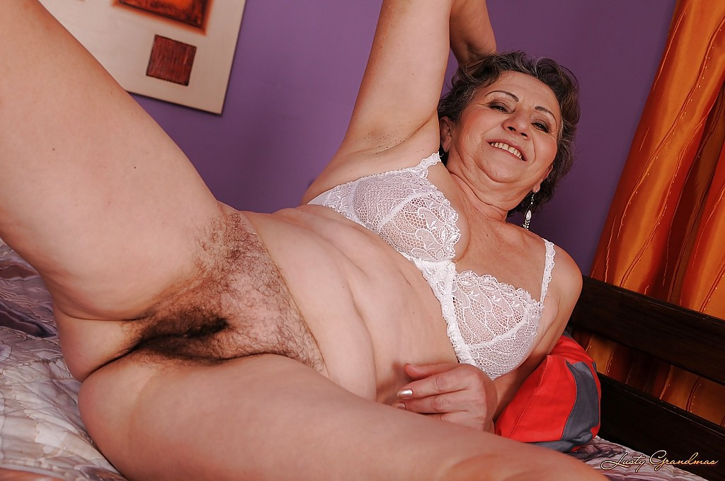 Useful granny hairy panty pics