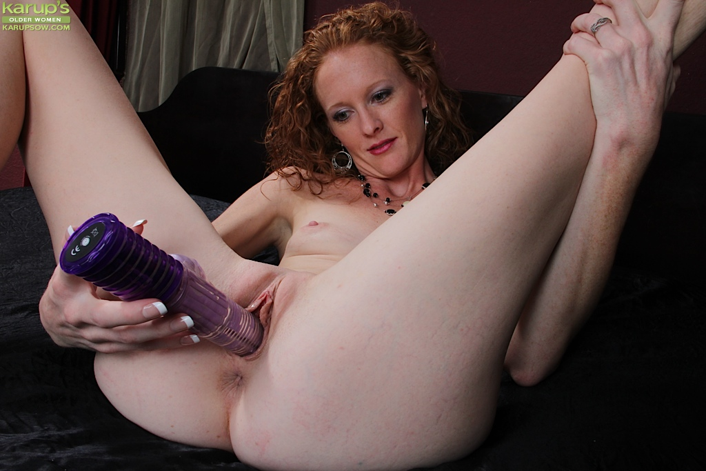 Nude redhead red hair