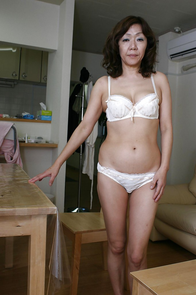 Mature asian women panties not