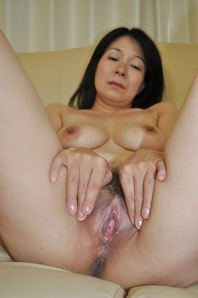 Asian tits pussy mature spread