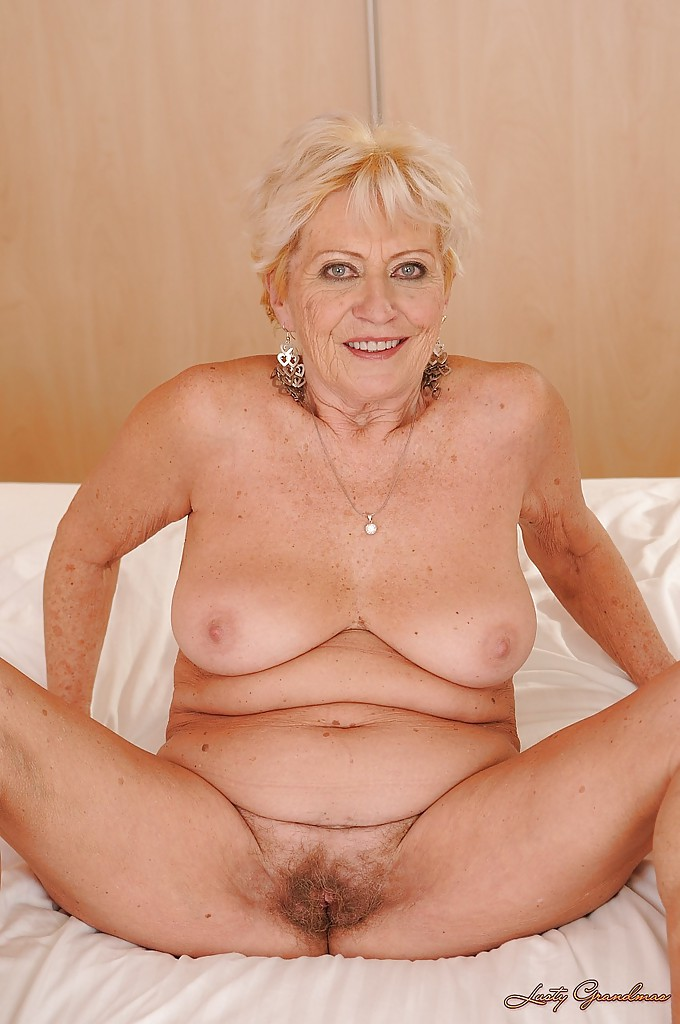Granny goes naked