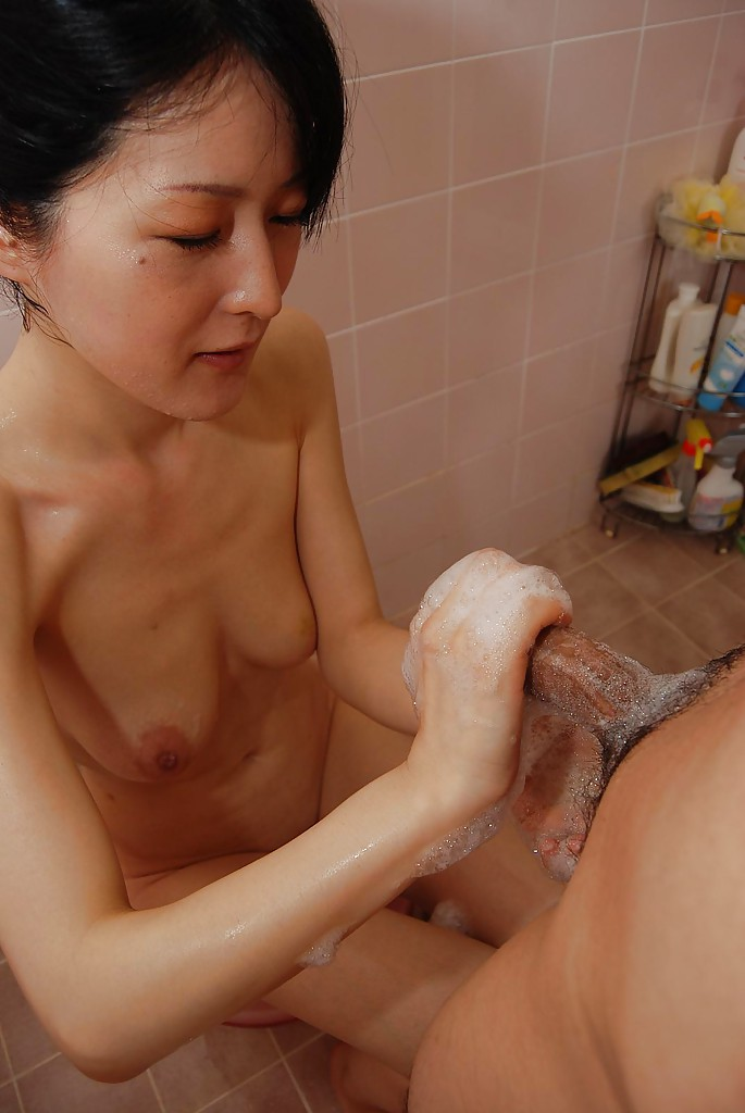 Risa murakami naked in boots covered in cum 6