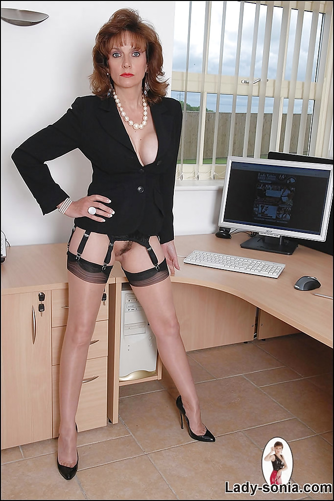 Naked secretary fetish